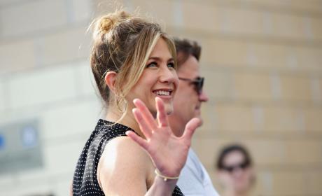 Jennifer Aniston in Italy