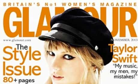 Taylor Swift Glamour UK Cover