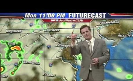 Weatherman Quotes Taylor Swift, Gives Coolest Report Ever