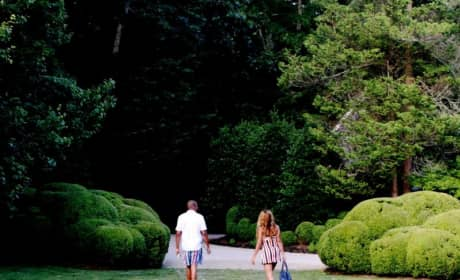 Beyonce and Jay in The Woods