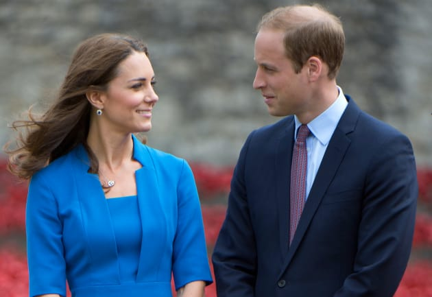 The Duke and the Duchess of Cambridge