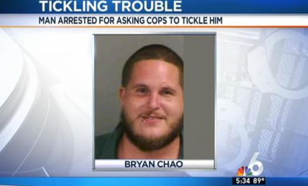 Florida Man Arrested For Repeatedly Trying To Tickle