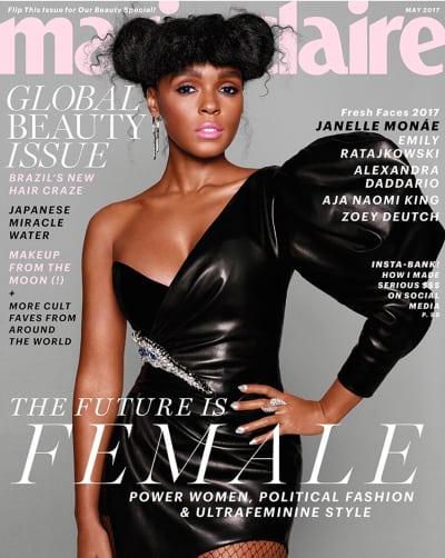 Janelle Monáe Marie Claire Cover