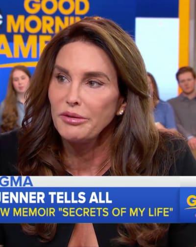 Caitlyn Jenner on GMA