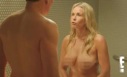 Conan O'Brien and Chelsea Handler: Naked Shower Fight!!!