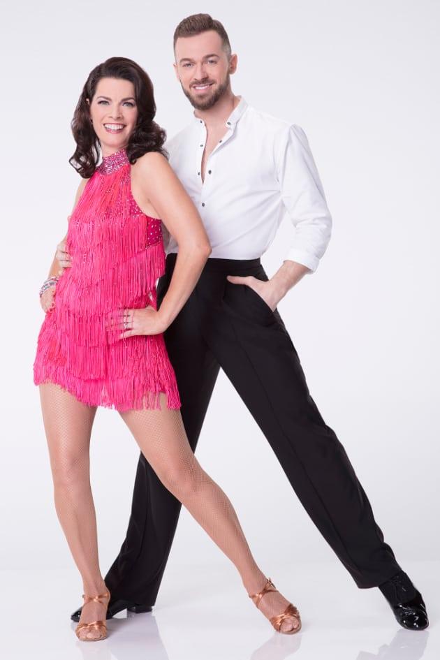 Nancy Kerrigan and Artem Chigvintsev