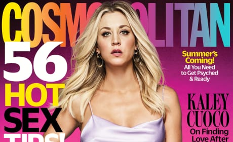 Kaley Cuoco Covers Cosmo