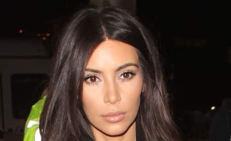 Sad Kim Kardashian