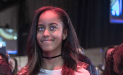 Malia Obama: Carted Out After Partying at a Music Festival!