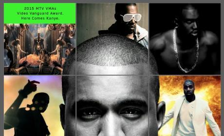 Kanye West MTV Photo