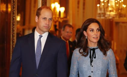 Kate Middleton, Baby Bump Debut in Rare Public Appearance!