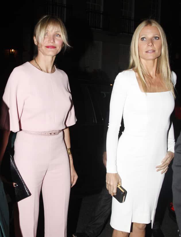 Gwyneth Paltrow and Cameron Diaz Photo