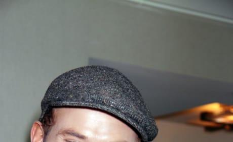 Kellan Lutz with a Cap