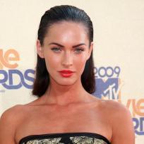 Megan Fox Slicked Back Hair