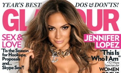 Jennifer Lopez Covers Glamour, Looks HOT