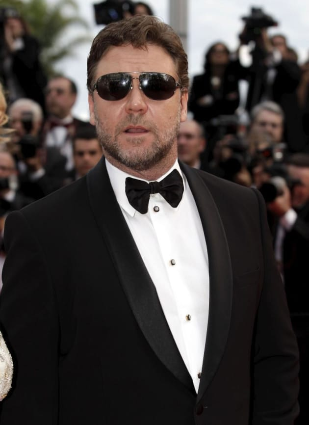 Crowe at Cannes