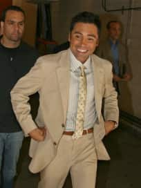 Milana Dravnel, Oscar De La Hoya