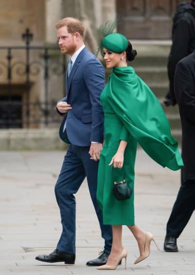 Príncipe Harry, duque de Sussex y Meghan, duquesa de Sussex