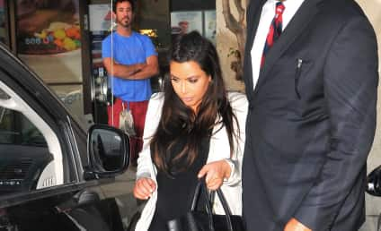 Kim Kardashian Baby Pics: Fooled You!