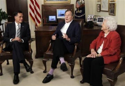 Bush and Mitt