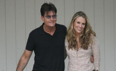 Charlie Sheen and Brooke Mueller Picture