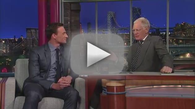 Ryan Lochte on Letterman