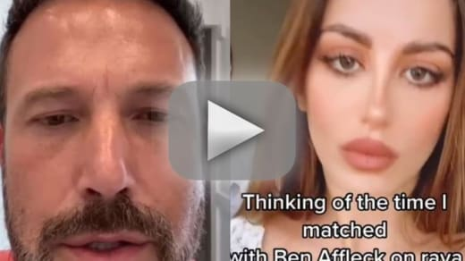 Ben affleck gets dumped on dating app responds with hilarious vi