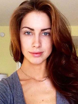 Katherine Webb: No Makeup!