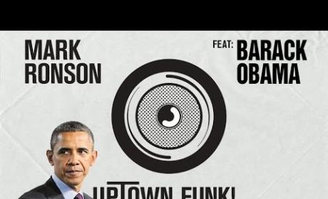Barack Obama - Uptown Funk (Mark Ronson-Bruno Mars Lip Dub)