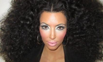 Kim Kardashian Makes Like Diana Ross