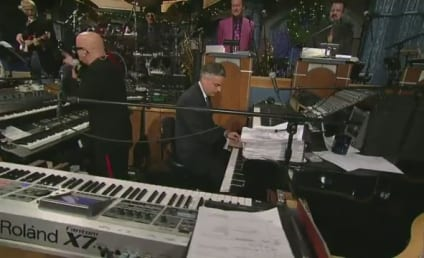 Jon Huntsman Plays Piano on Late Show