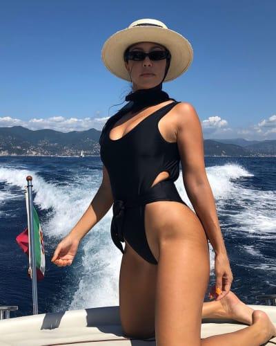 Kourtney Kardashian Flaunts Stretch Marks