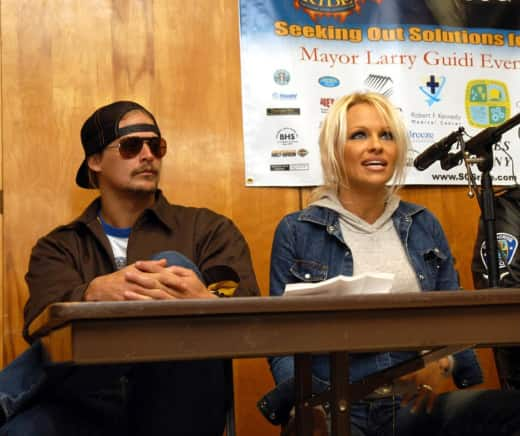 Kid Rock And Pamela Anderson Photo