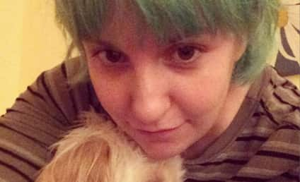Lena Dunham Goes Green, Dyes Hair Again