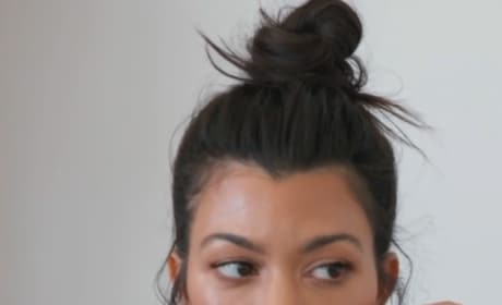Kourtney Kardashian talks on KUWTK