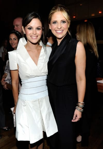 Rachel Bilson and Sarah Michelle Gellar