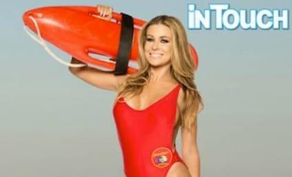 Carmen Electra: Baywatch Swimsuit Still Fits!