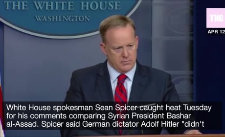 Sean Spicer Said WHAT About Hitler?