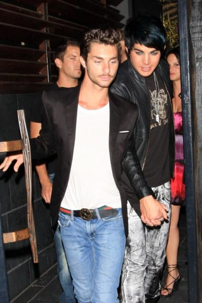 Is adam lambert really gay