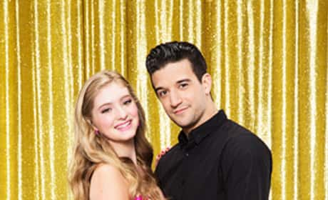 Mark Ballas and Willow Shields