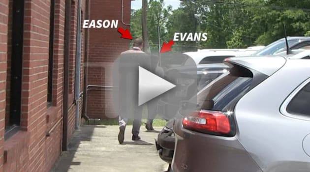Jenelle evans and david eason at cps hearing
