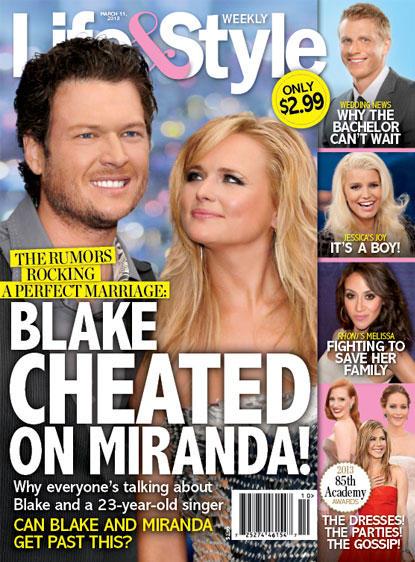 Blake Shelton Cheated?!?