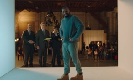 "Drake Mocks ""Hotline Bling"" in T-Mobile Super Bowl Ad"