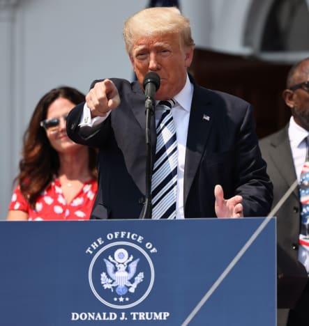Donald Trump in NJ