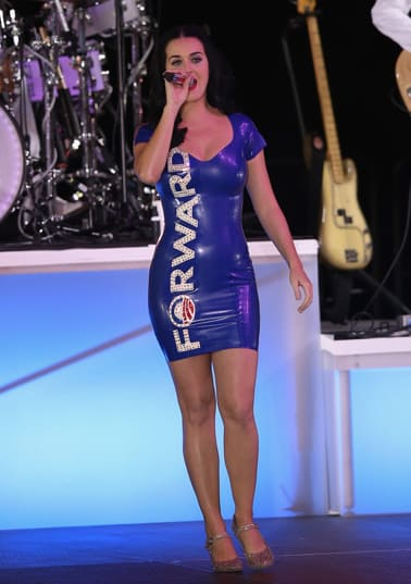 Katy Perry Ballot Dress
