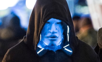 Jamie Foxx is Electro in New Amazing Spider-Man 2 Set Photos