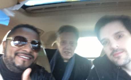 Christopher Walken Selfie With Fans