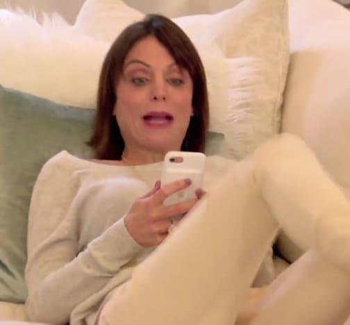 Bethenny on the Phone