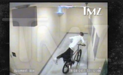 Justin Bieber: Caught Stealing Bicycle from Security Guard in Vegas