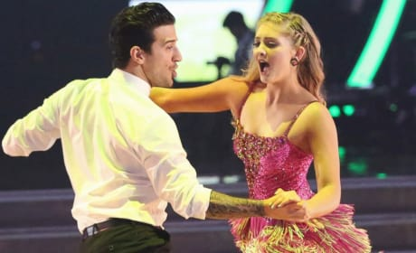 Willow Shields and Mark Ballas